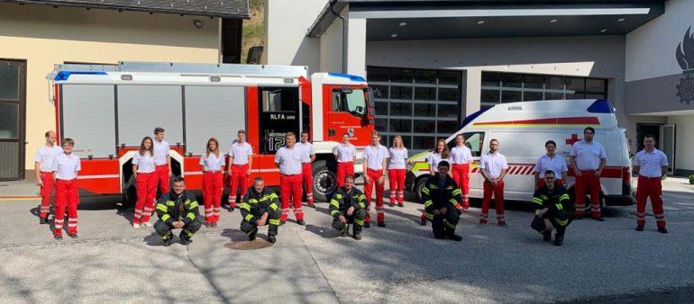 Rettungssanitäterkurs bei der FF Helfenberg