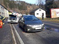 Verkehrsunfall Aufräumarbeiten am 20. Februar 2021