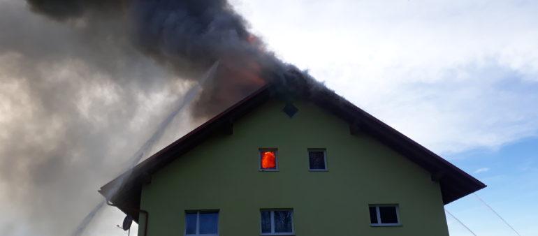 Brand Wohnhaus am 30. April 2021
