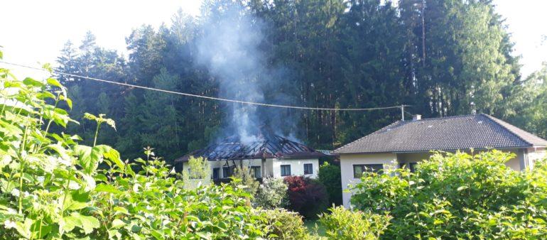 Brand Wohnhaus am 19. Juni 2021