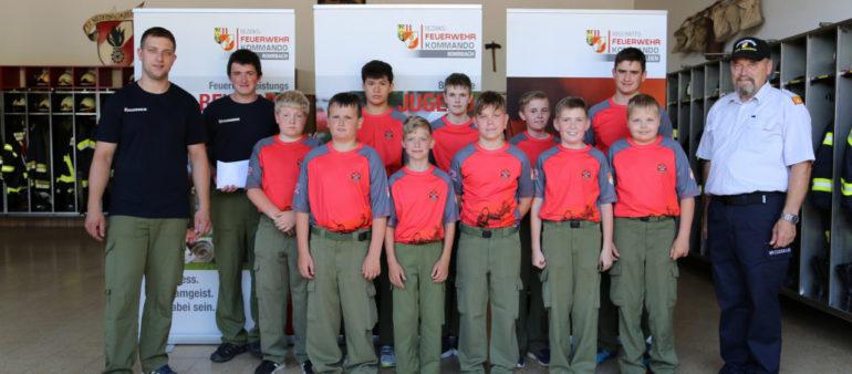 Feuerwehrjugendleistungsbewerb am 3. Juni in Niederwaldkirchen