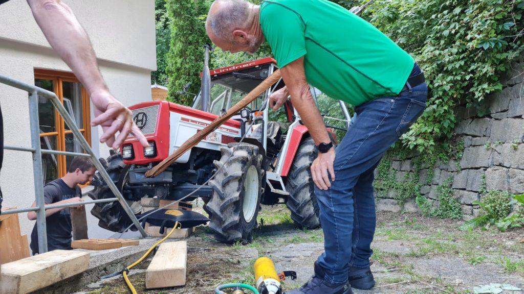 Traktorbergung am 22. Juli 2021