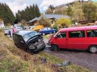 Verkehrsunfall am 21. Oktober